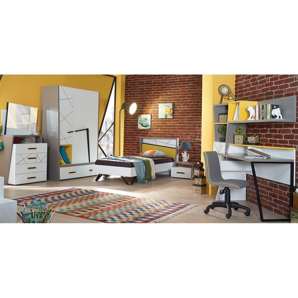 Vektor yellow gyerek szoba