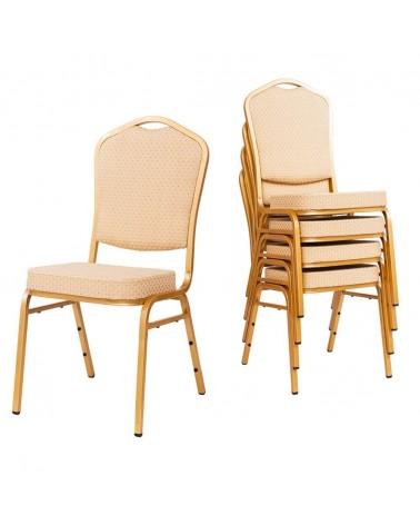 MT Acélvázas, erősített minőségi bankett szék bézs színben