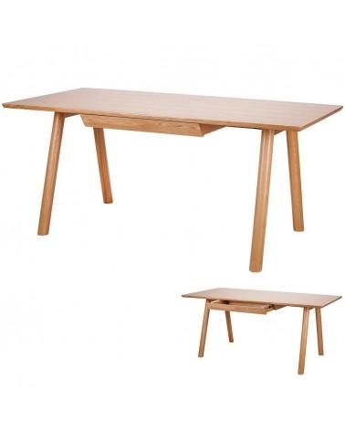 PG April tölgyfa étkezőasztal