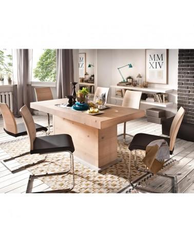 PG Aspero bővíthető tölgyfa étkezőasztal
