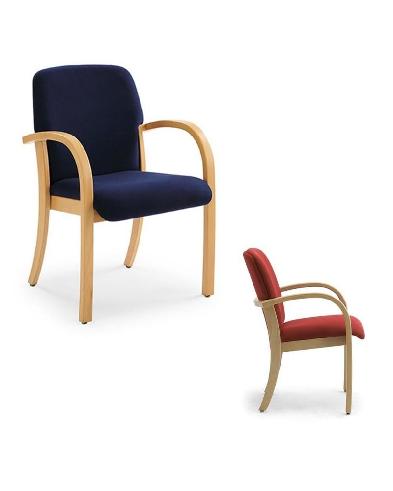 FO Kali minőségi olasz karfás várótermi szék