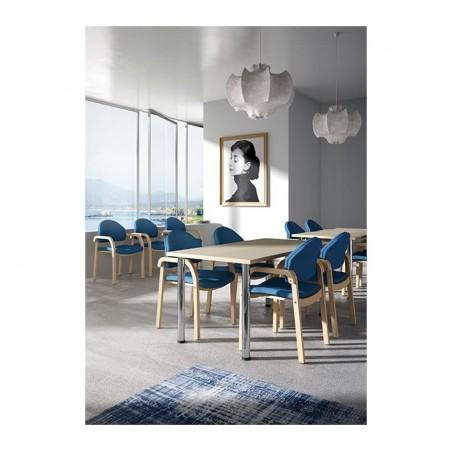 FO Soleil minőségi olasz karfás várótermi szék