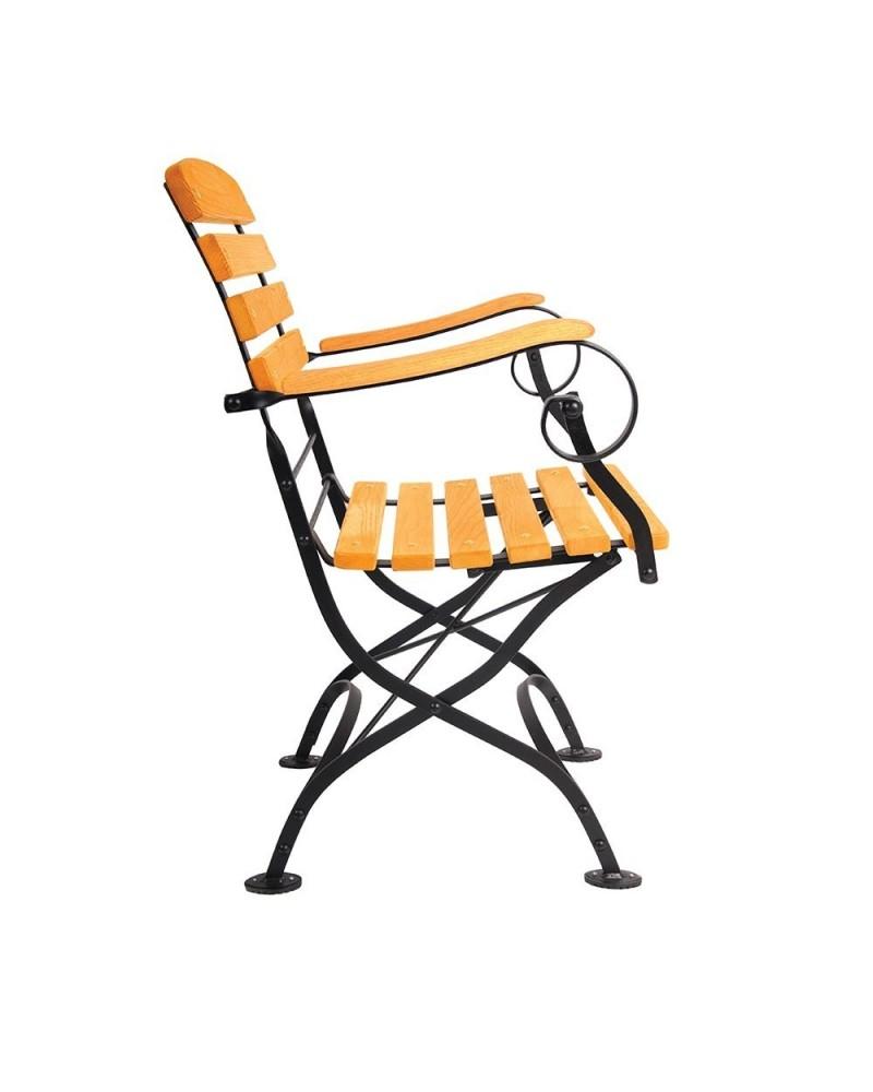 Kültéri fa székek DO Maja I. karoszék
