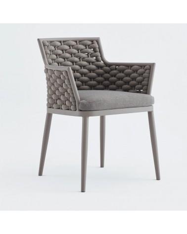 Kültéri fonott székek NI Leon karosszék