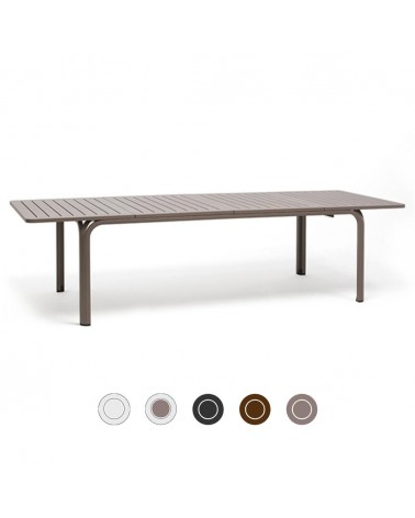 ND Alloro bővíthető kültéri asztal